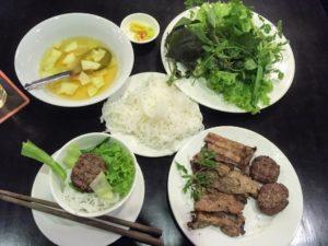 ベトナムホーチミンでハノイ名物ブン・チャーを食べるならここ!