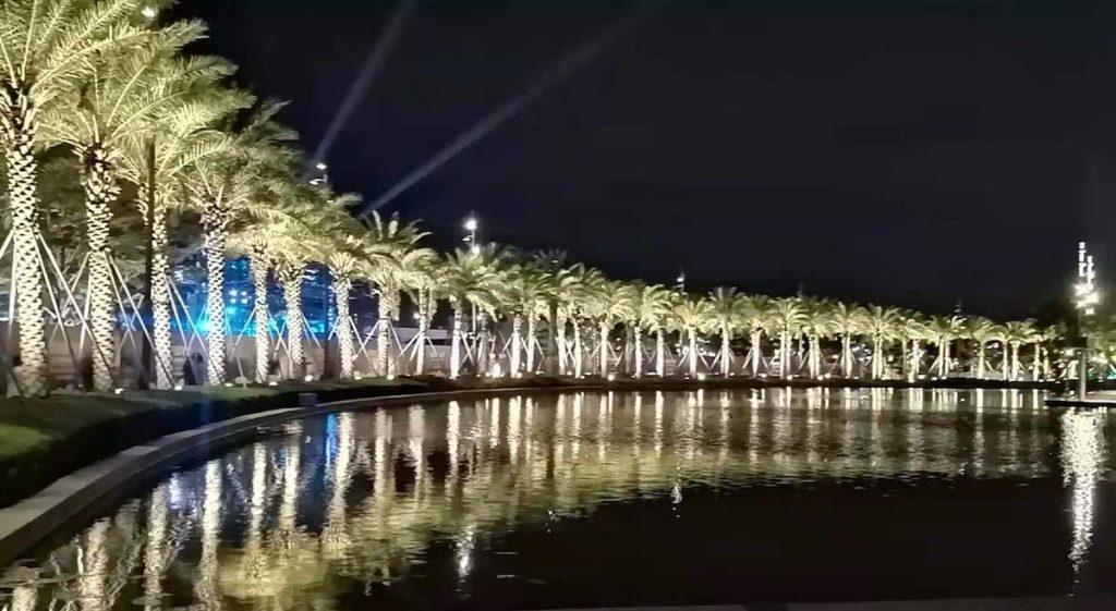 深センで一番アツいスポット 「欢乐港湾」夜景