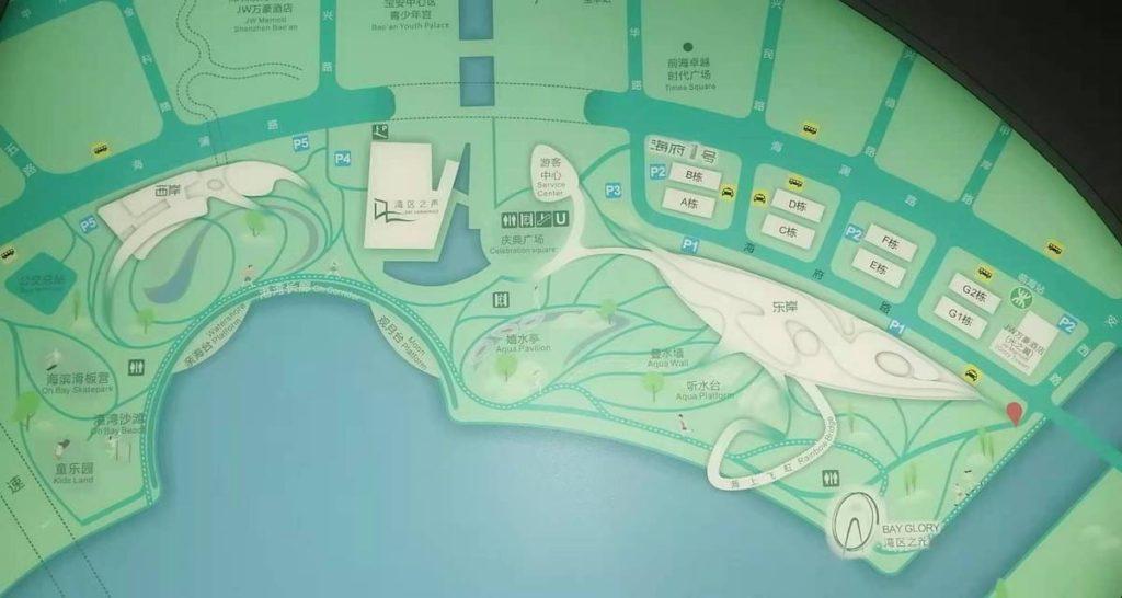 深センで一番アツいスポット 「欢乐港湾」